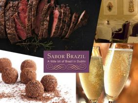 7 Course Tasting Menu with Prosecco for Two for Only €120 at Sabor Brazil (Valid till August 2016!)