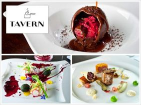 Experience an amazing 3 Course Meal for Two with a Bottle of Wine for Only €60 in Tavern @ Dylan, 5 Star Boutique Hotel