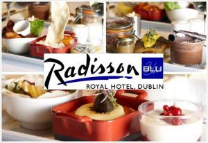 Experience the Amazing Winter Trilogy Menu for Two People for Only €28 at V'nV at Radisson Blu Royal Hotel