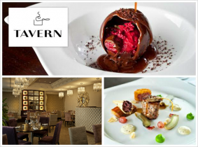 Experience an amazing 3 Course Meal for Two with a Bottle of Wine for Only €70 in Tavern @ Dylan, 5 Star Boutique Hotel