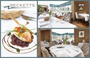 Savour a Mouth Watering 4 Course Meal for Two for Only €49 in Beckett's, Leixlip