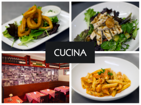 Savour a mouth-watering 3 Course Dinner for Two with a Bottle of Wine for Only €55 in Cucina, Parnell St!
