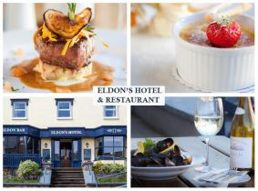 One Night Stay for Two People with Breakfast, 2 Course Dinner & Late Checkout in Eldon's Hotel, Roundstone for Only €99!