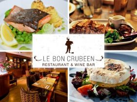 50% OFF! Enjoy €40 Worth of Food for €20 per Two in the Award-Winning Le Bon Crubeen, Dublin 1.