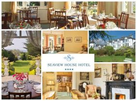 West Cork's Finest! Experience a 2 Night Stay for Two with 5 Course Dinner for Only €350 in the Seaview House Hotel, Bantry!