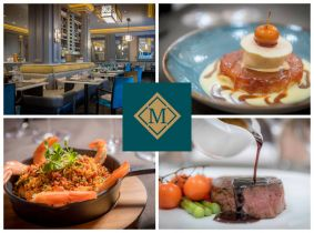 Experience a Mouth-Watering 3 Course Dinner for Two with a Bottle of Wine at just €99 at the acclaimed Morelands Grill, Westmoreland St!