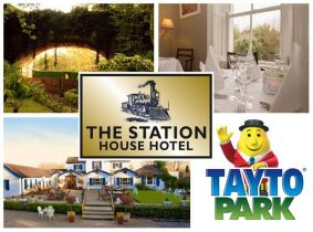 Spectacular 2 Night Family Break including Tayto Park Pass for Only €289 at The Station House Hotel, Kilmessan, Co. Meath!