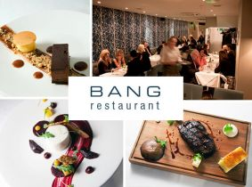 Exquisite 3 Course Fine Dining Experience for Two for Only €69.95 in Bang Restaurant, Merrion Row.