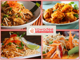Enjoy a Mouth-Watering 4 Course Meal for Two with a Glass of House Wine/Beer for Only €50 in Sawadee Thai, Terenure!