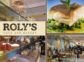 Best Selling Deal Returns! Treat yourself to a Mouth Watering 3 Course Set Dinner for Two for just €35 at Roly's Cafe, Ballsbridge...