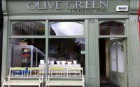 Olive Green Espresso Bar